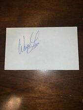 WAYNE LEVI - GOLFER - AUTOGRAPH SIGNED - INDEX CARD -AUTHENTIC - C117