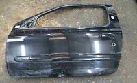 Renault Clio Sport MK2 2001-2006 172 182 Passenger NSF Front Door Black TE267
