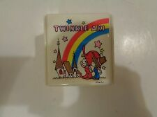 Vtg Lady Mate Music Trinket Box Twinkle Aki Japan Sanrio It's a Small World Rare