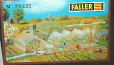 Faller N scale Green houses kit 232225 Neat!!
