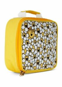 LITTLE MISS SUNSHINE DAISY PATTERN LUNCHBOX LUNCH BAG