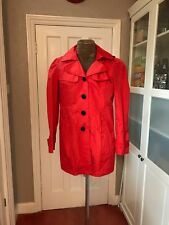 Steve Madden rain trench coat with hood Sz XL would fit UK 14