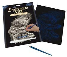 Set d'Arte incisione – Coccodrillo – brillano al buio e dalla Royal Langnickel