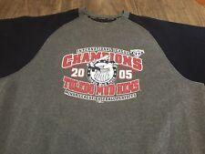 Toledo Mud Hens 2005 Champs Gray & Navy XL Sweatshirt Minor League Baseball MiLB