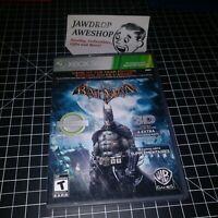 (REPLACEMENT CASE+MANUAL) BATMAN ARKHAM ASYLUM GOTY PLATINUM XBOX 360 (NO GAME)