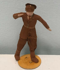 4� Doll Original Ravca Military Man Crepe Paper