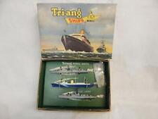 TRIANG MINIC SHIPS  ROYAL YACHT BRITANNIA WITH DESTROYER ESCORT SET M894 BOXED