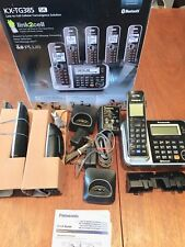 Panasonic KX-TG385SK Cordless Phone 5 Handset DECT Link Your Cell To Your Home