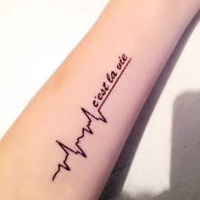 New style tatoo h temporary tattoo sticker men TaTy tatuagem tattoos