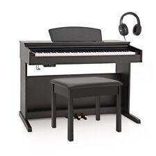 DP-10X Digital Piano by Gear4music + Piano Stool Pack Matte Black