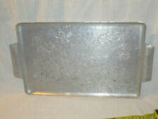 Vintage Wendell August  Aluminum Platter     (BOX7)