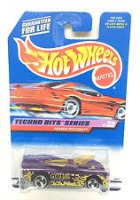 Hotwheels1998 Techno Bits Power Pistons Purple Net #690 1:64 Diecast Car
