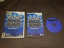 ROCKBAND SONG PACK 1 Nintendo Wii Game