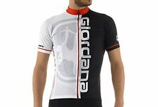 new M Giordana Made in Italy Vero Trade Water mark red road cycling s/s jersey