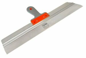 """Large Stainless Steel Taping knife 550mm / 60mm. Plastering Spatula 21.5"""""""