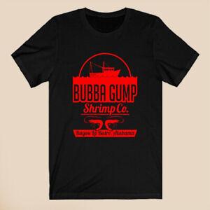 Bubba Gump Shrimp Co Forest Gump Men's Black T-Shirt Size S-3XL