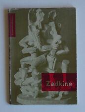 Hammacher Ossip Zadkine 1954 Lipchitz Apollinaire Modigliani Picasso Rotterdam