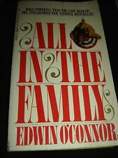 ALL IN THE FAMILY by EDWIN O'CONNOR BANTAM BOOKS Paperback 1967