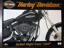 FASCICULE 56 HARLEY DAVIDSON SOFTAIL NIGHT TRAIN 1584 / BARCELONA / FAMILLE DYNA
