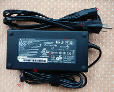 Original OEM Delta 180W AC Adapte for Clevo X611,P150SM-A,P157SM-A Gaming Laptop