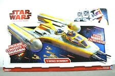Hasbro Star Wars The Clone Wars Y-Wing Bomber, 2009, New