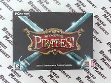 SID MEIER'S PIRATES! DVD DA COLLEZIONE IN EDIZIONE LIMITATA PC BIG BOX COMPLETO