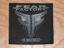 FEAR FACTORY - THE INDUSTRIALIST (NEW) SEW ON PATCH OFFICIAL BAND MERCHANDISE