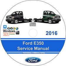 New ListingFord E350 2016 Factory Workshop Service Repair Manual on Cd