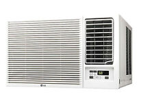 LG LW1216HR - 12,000 BTU 220V Window A/C w/ Heat: Remote & Window Vent Kit Incl.