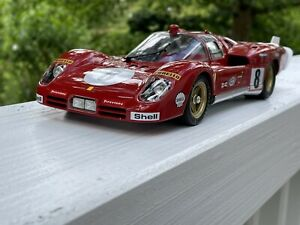 GMP Ferrari 512S 5.0L V12 Long Tail Team 1:18 M1801003 by RACEFACE-MODELCARS