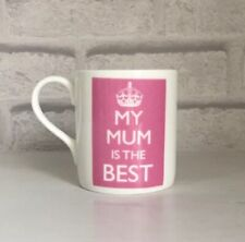 'MY MUM IS THE BEST' Mug FINE CHINA Gift NEW McLaggan Smith Mother Coffee Tea