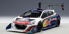 AUTOart 81354 PEUGEOT 208 T16 diecast model car Loeb Winner Peak Race 2013 1:18