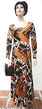 Hippie Deluxe real vintage 70ies Long dress pucciesque Leonard Print