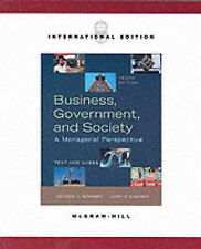 Business, Government, and Society: A Managerial Perspective by Steiner, George