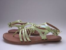 $175 NIB Belle by Sigerson Morrison Rosa Sandals Light Green Patent Women's 10