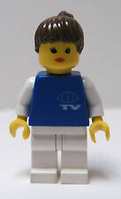 LEGO Classic Town Girl Femal TV New Reporter Broadcaster Local National