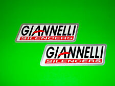 GIANNELLI SILENCERS MOTORCYCLE STREET 2T 4T MAXIS SCOOTER STICKERS DECALS