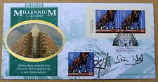 MILLENNIUM BOOKLET 1999 BENHAM FDC CARDIFF H/S SIGNED BY TV PRESENTER SIAN LLOYD