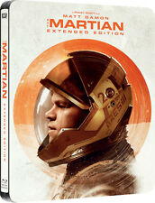 The Martian - Extended Limited Edition Steelbook (Blu-ray) BRAND NEW!!