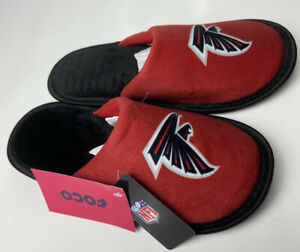 atlanta Falcons Slippers  Kids XL 7-8 NEW NFL Slip on