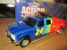 Chevy Dually 1 ton Jeff gordon 1:24 Truck Bank crewcab dupont  racing action