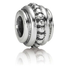 RETIRED PANDORA! NEW Beaded Style Sterling Silver Charm RRP $35