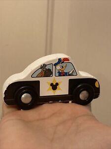 Melissa & Doug Disney Mickey Mouse Wooden Police Car