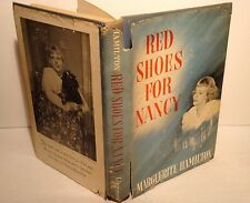 1955 Red Shoes for Nancy-Marguerite Hamilton-RARE-Signed Author & Daughter-1st