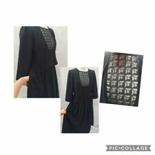 Black Fit & Flare Dresses for Women with Pockets