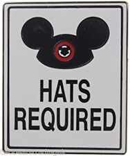Disney Pin: WDW/DLR Mickey Mouse Ear Hat - Hats Required (New/Card)
