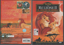 Il Re Leone 2. Il regno di Simba (1998) DVD WALT DISNEY WARNER Z8 34549