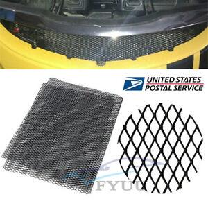 Sale! Universal Aluminium Racing Grille Mesh Vent Car Tuning Grill 12mm*6mm Mesh