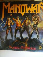 Manowar -- Fighting The World -- LP -- 1987  -  ATCO