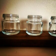 vintage Jam jar Shot Glass 30ml Party Shooters Rustic Shot Glass X3